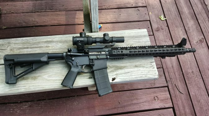 A 16″ Palmetto State Armory/PSA 5.56x45mm Tactical AR Build