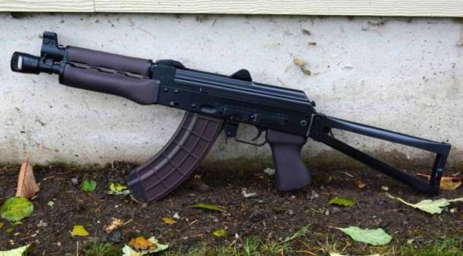 Check Out Art's Wild M92 SBR with our Plum M76 Grip and Handguards