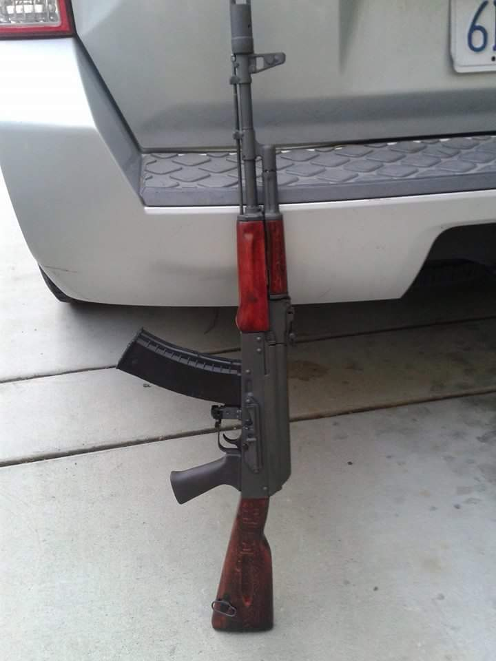 John's Bulgarian AK-74 is Looking Great With Our Molot Grip
