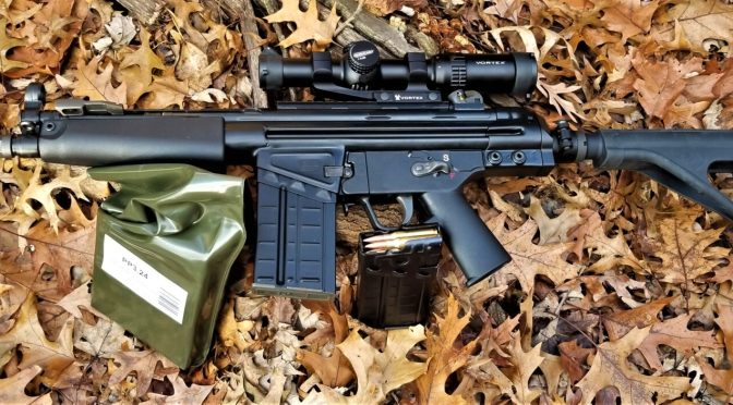 Adding a Vortex 1-6×24 Strike Eagle Scope to the PTR PDWR