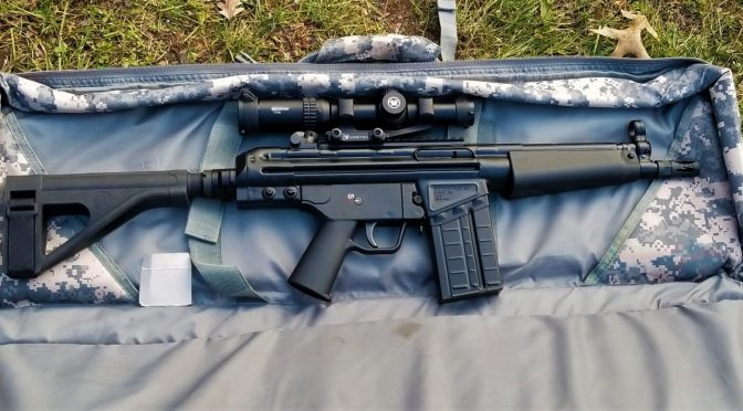 Shooting the PTR PDWR – So Cool!