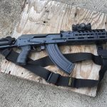 Russian AK-12 Grip on Vepr Rifle