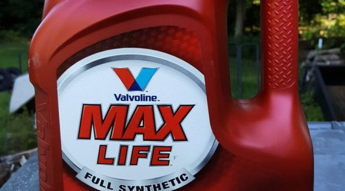 Valvoline Max Life ATF Works Great in 2002 Toyota Camry XLE