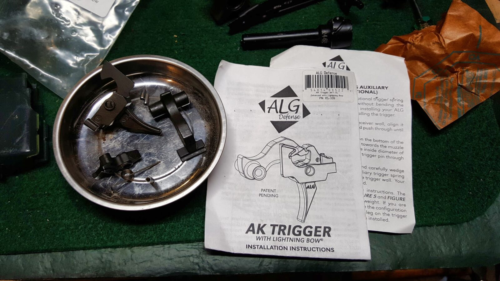 Assembling A Beryl-ish AK From A WBP Kit – Part 7 – Installing the