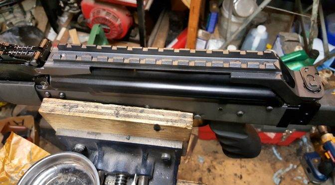Assembling A Beryl-ish AK From A WBP Kit – Part 7 – Installing the Fire Control Group and the Optics Rail