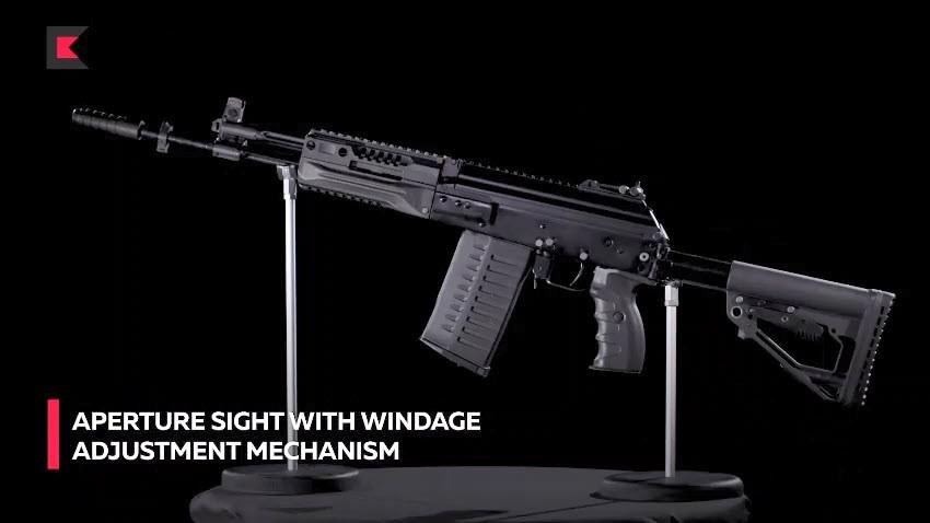 Kalashnikov AK-308 Promotional Video - Ronin's Grips