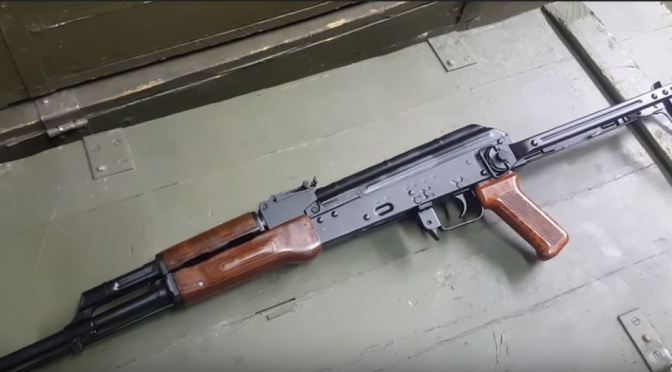 WBP Rogów Videos How They Demil a Circle 11 Underfolder AK — Pretty cool but sad too