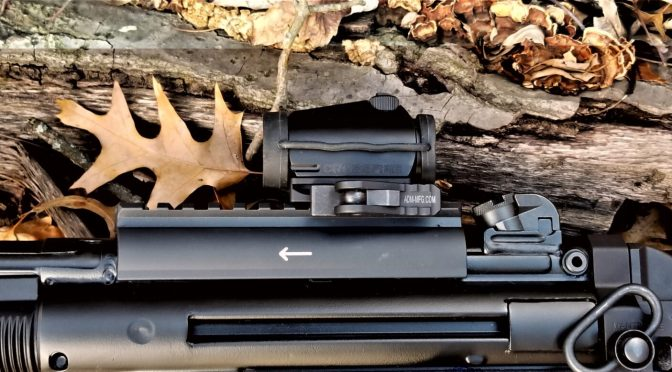 American Defense Red Dot Optic Mounts Rock!