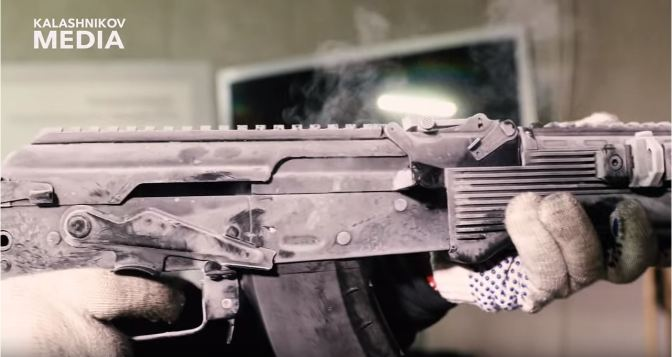 AK-203 Reliability Testing Video From Kalashnikov Media
