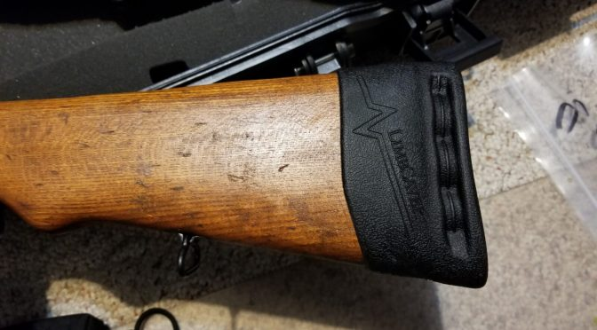 Add Length of Pull to a Yugo M70, M72 or M76 Wood Buttstock WIth A Limbsaver Recoil Pad