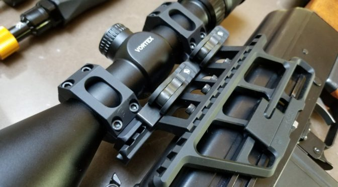 Changed my Yugo M76 Scope Mount To An American Defense AD-RECON-SL and It's Rock Solid!!