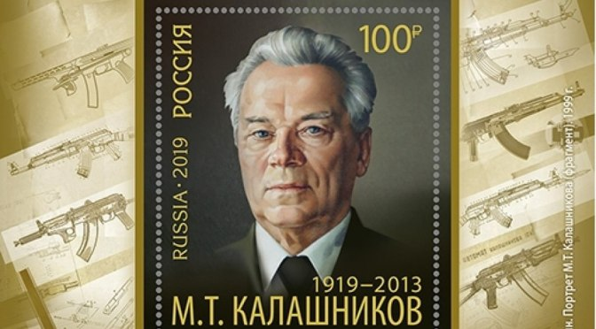 November 10, 2019 – Russia Celebrates Kalashnikov's 100th Birthday