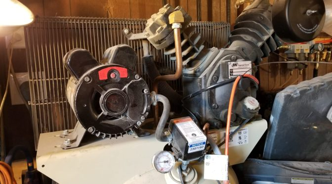 Replacing the Pressure Switch on an Ingersoll Rand 2340L5-V Air Compressor