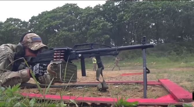 Video:  Crazy Training of Russian Special Forces With PKM and PKP Machine Guns