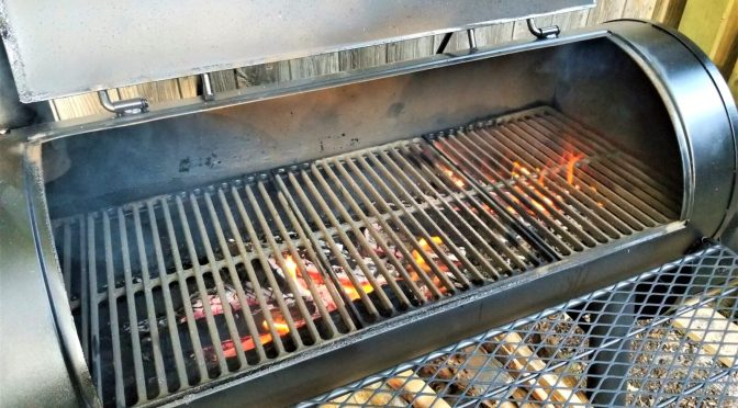Upgrading A Char-griller Competition Pro Model 8125 Smoker For Use WIth Firewood