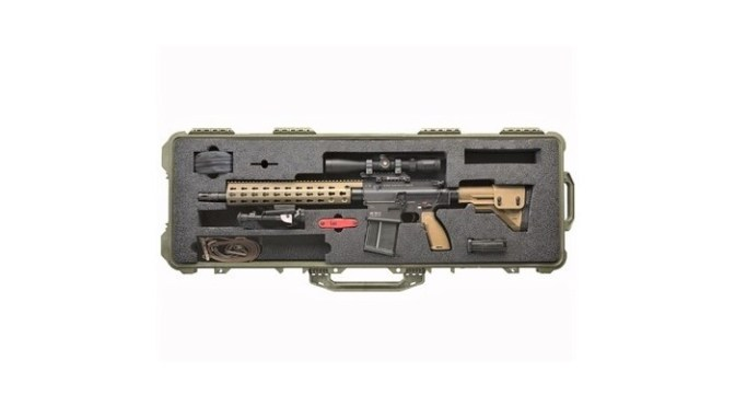 Looking for a hell Of a .308 AR Platform Sniper Rifle?  Brownells Has The HK MR762A1 LR Package For $1,000 Off List