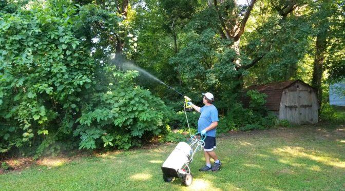 Going Nuclear on Mosquitoes – Awesome Affordable DIY Sprayer System