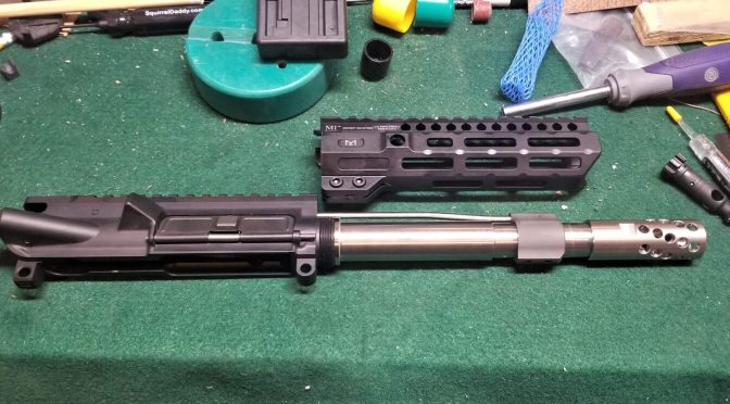 Building a 12.7×42 (.50 Beowulf) 7.5″ Pistol – The Wulferine:  Post 1 – Planning The Parts