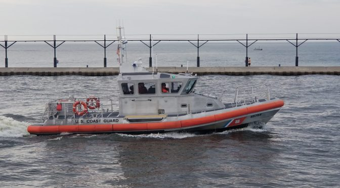 US Coast Guard Response Boat Medium (RB-M) 45754 Stationed In Saint Joseph, MI