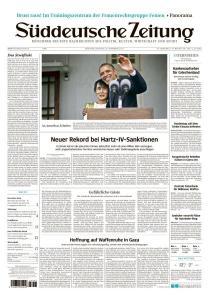 """Titelseite """"Süddeutsche Zeitung"""" vom 20. November 2012"""