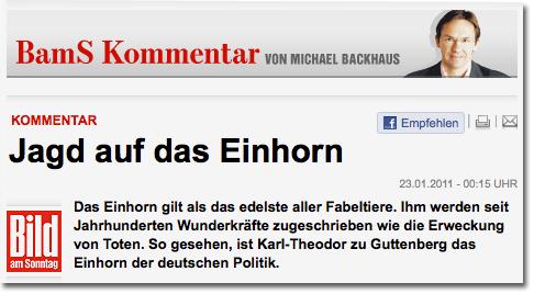 """""""Bild am Sonntag"""""""