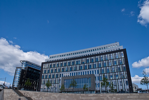 Bundespressekonferenz in Berlin (Bild: CC Flickr haasweyregg)