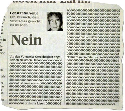 Constantin Seibt im Tages-Anzeiger