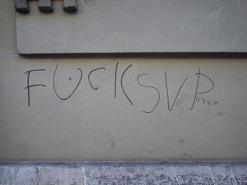 Fuck SVP
