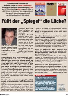 Journalist 2007 08