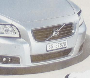 Volvo Werbung Ausschnitt