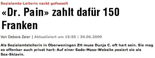 Screenshot blick.ch