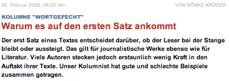 Screenshot Welt.de
