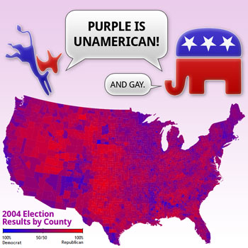 Purple Is Unamerican