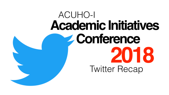 ACUHOI Academic Initiatives Conference 2018