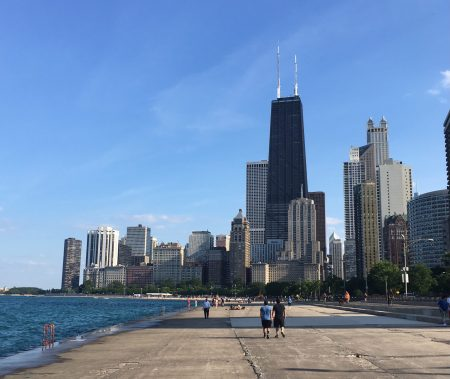 Chicago by the lake