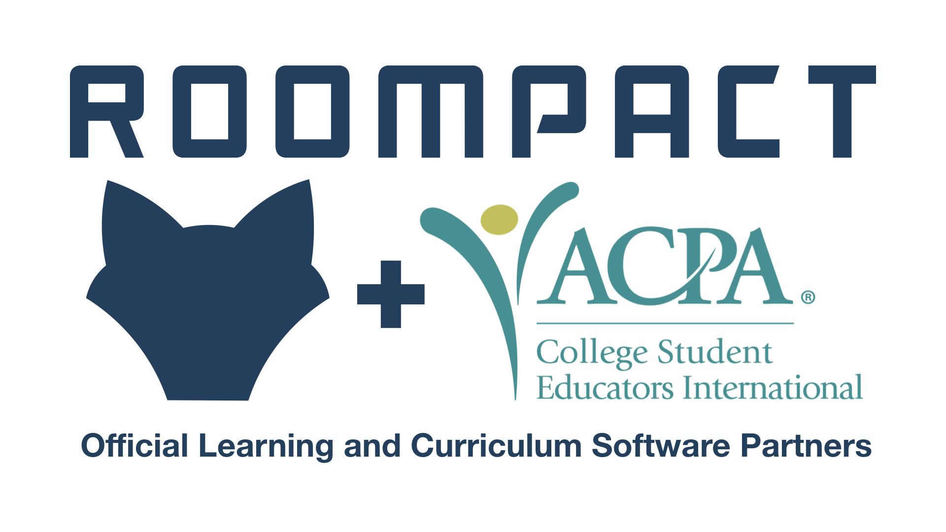 Roompact and ACPA Partnership