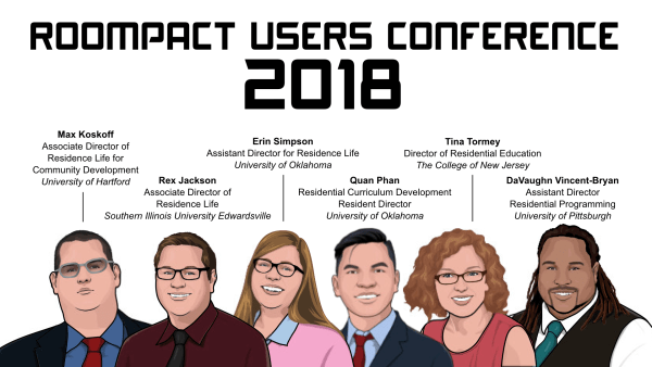 Roompact Users Conference Presenters