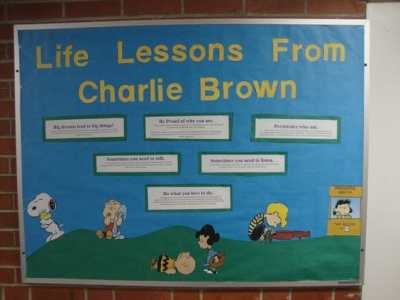 Charlie Brown Bulletin Board