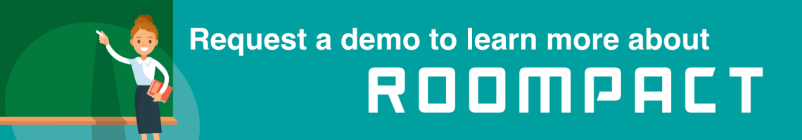 Request a Demo of the Roompact Software