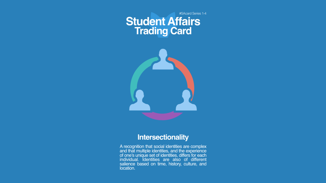 Student Affairs Trading Card 1-4: Intersectionality