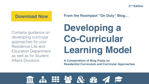 Developing A Co-Curricular Model eBook