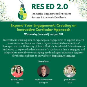 Webinar: Expand Your Engagement: Creating an Innovative Curricular Approach