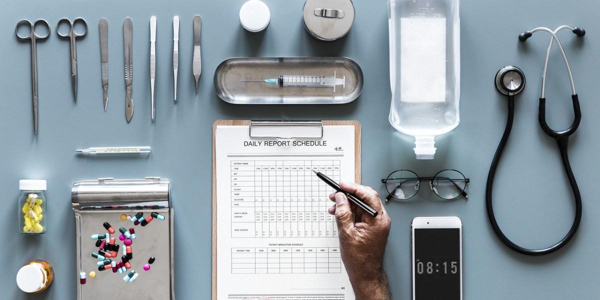 Checkliste im Krankenhaus