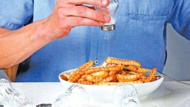 عند تناول كمية كبيرة من الملح ماذا يحدث للدماغ