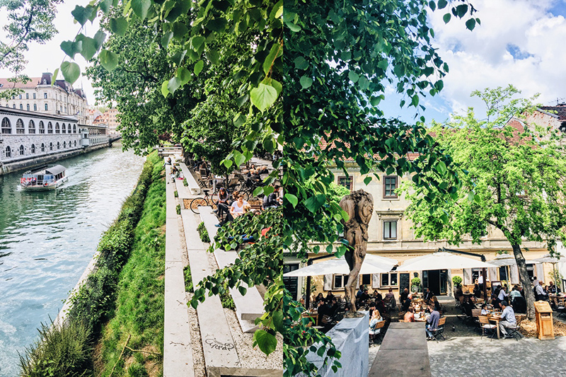 Visit A Lovely Ljubljana In Slovenia RossandHelen Travel Blog - A beautiful villa in ljubljana every minimalist will love