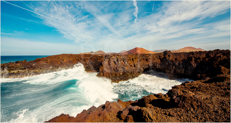 10 Los Hervideros Lanzarote, Canary Islands