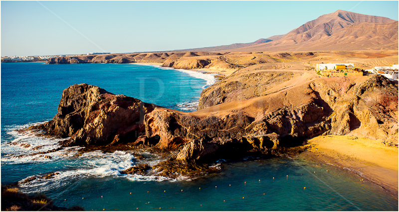20 playa Papagayo on Lanzarote, Canary Islands