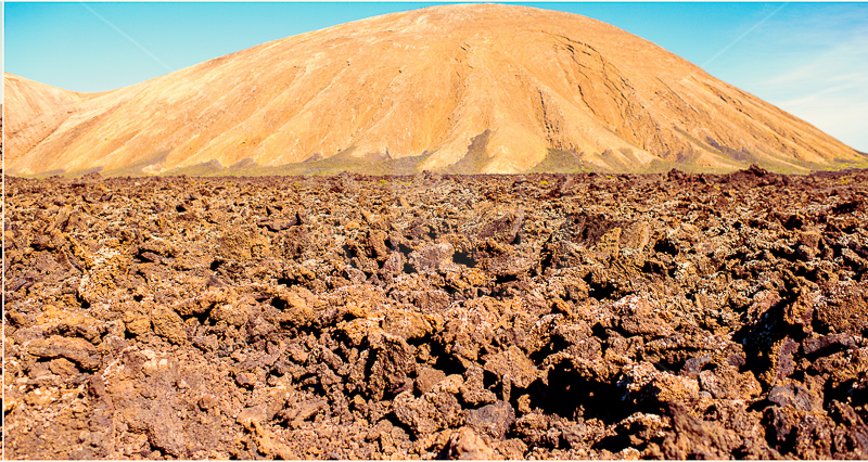 6 Timanfaya volcano park on Lanzarote, Canary Islands