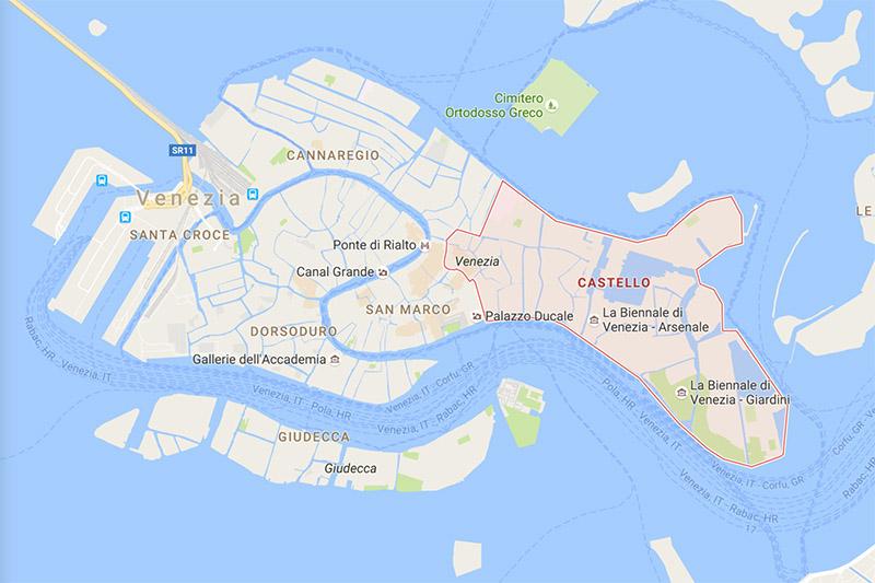 castello venice map copy