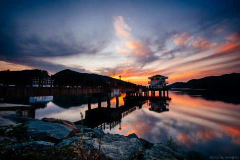 Cusick's Sunset-1
